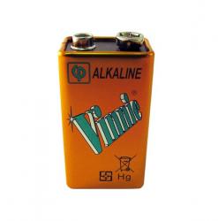 Vinnic Alkaline 9V Battery