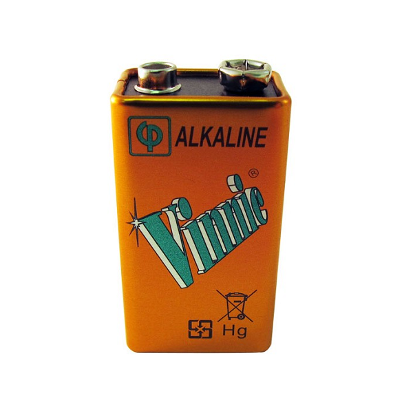 Vinnic Alkaline Battery 9V